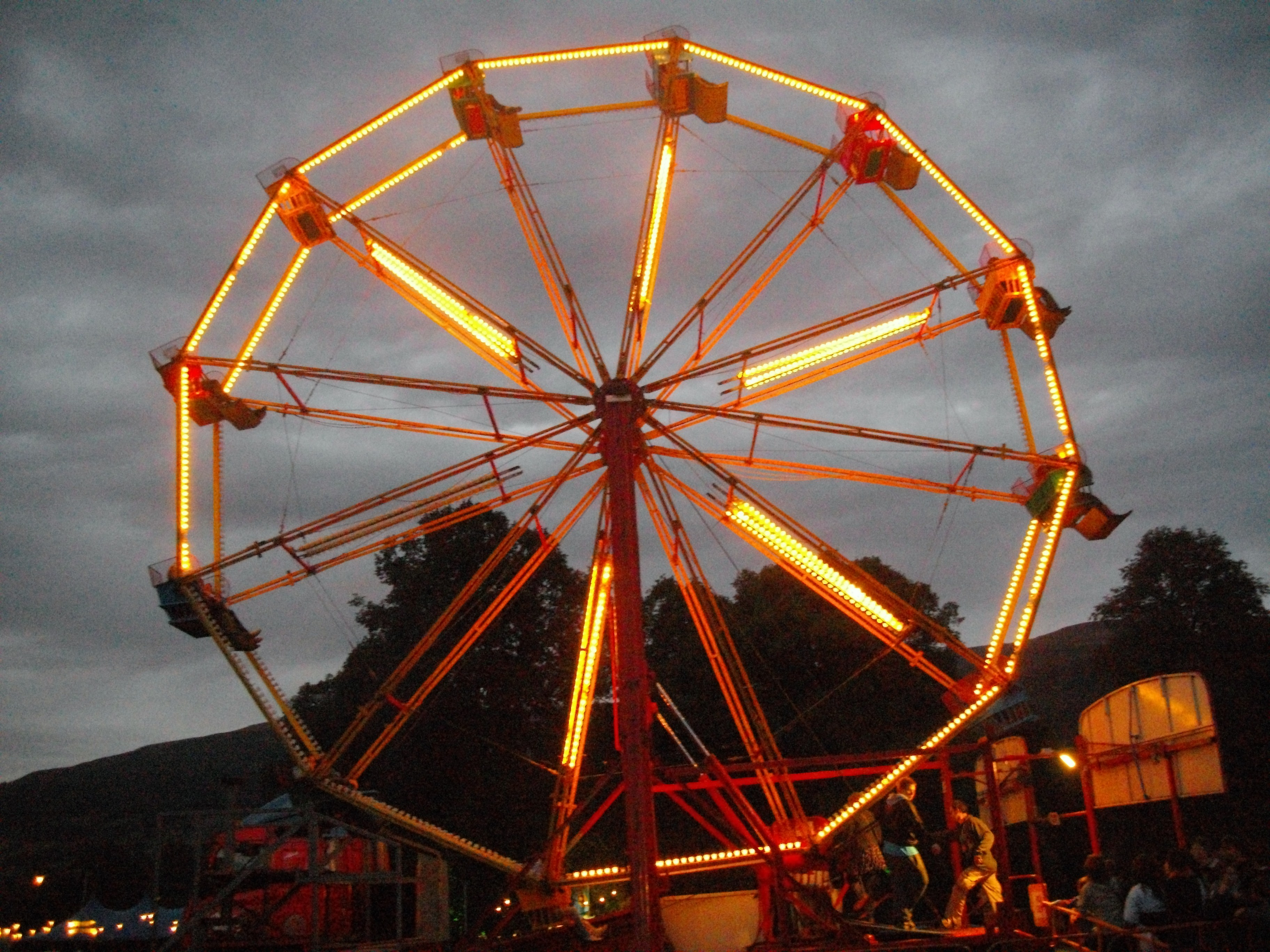 Ferris Wheel at the Green Man Festival 2011